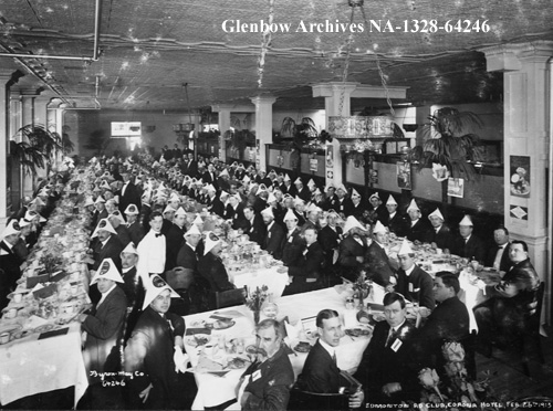 na-1328-64246 - Edmonton Ad Club dinner at Corona Hotel, Edmonton, Alberta. - February 26 1913