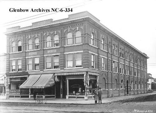 nc-6-334 - MacLean block, Edmonton, Alberta. - 1912