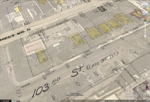 na-2597-7 - Malcolm McCrimmon home, Edmonton, Alberta. - 330 3rd Street - Map