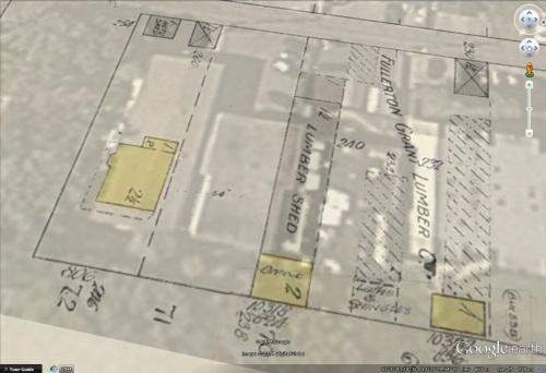 na-4797-9 - Fullerton-Grant lumber company, Edmonton, Alberta. - 10318 116 Street - Map