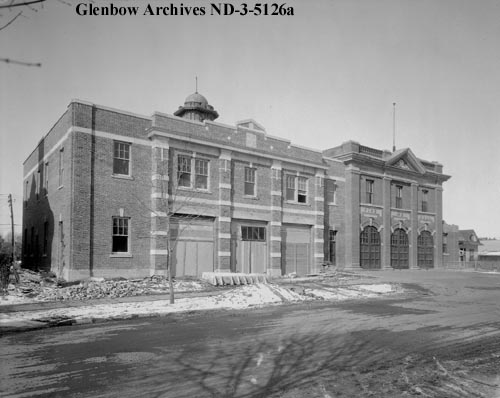 nd-3-5126a - Fire Hall No. 2, Edmonton, Alberta. - 1930
