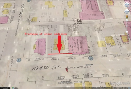 nd-3-5126a - Fire Hall No. 2, Edmonton, Alberta. - Map
