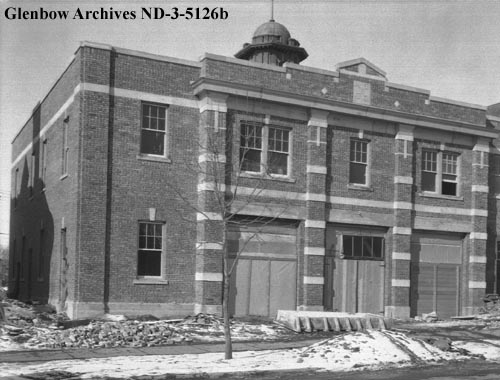 nd-3-5126b - Fire Hall No. 2, 10016 - 104th Street, Edmonton, Alberta. - 1930