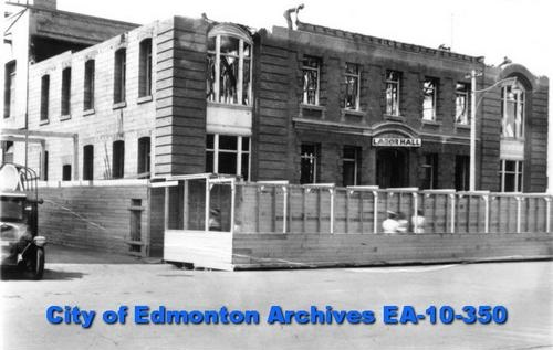 EA-10-350 - Labor Hall Demolition - Old Telephone Building - 100 Street - 1928