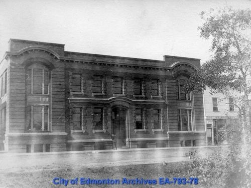 EA-793-78 - Telephone exchange - 100 Street - ca 1909