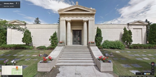 nd-3-6827b - Edmonton Cemetery Mausoleum - Near 107 Ave and 119 Street - 2014